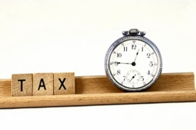 Tax Scrabble with Clock