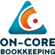 On-core Bookkeeping Stacked logo