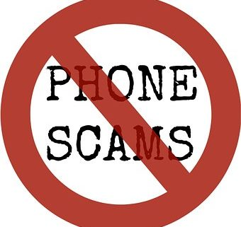 Cross out phone scams